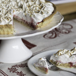 Afternoon tea - meringue cake